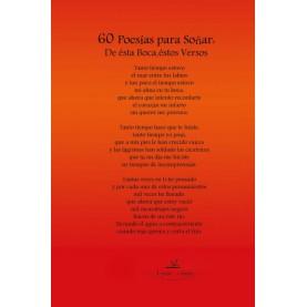 60 poesías para no soñar
