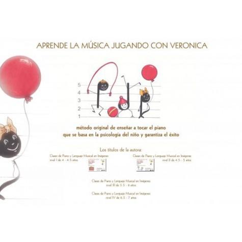 Clases de piano y lenguaje musical en imágenes para niños de 4 a 4,5 años