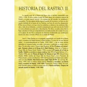 Historia del Rastro II