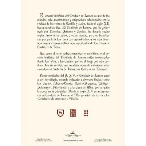 Tenencia, Señorío y Condado de Lemos