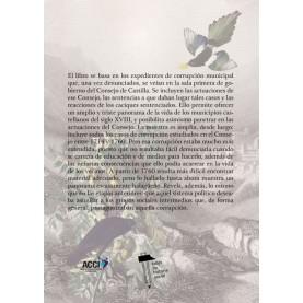 La corrupción municipal en la Castilla del siglo XVIII