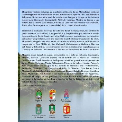 Valpuesta y Berberana, El Valle de Tobalina, Medina de Pomar y sus aldeas, San Zadornil y sus aldeas Villalba de Losa y su vez, Frías y sus arrabales