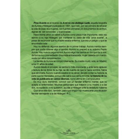 Proa Avante. Hildegart: El éxito de la Pedagogía - Aurora: El Infortunio de la Locura
