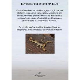 El veneno del escorpión rojo
