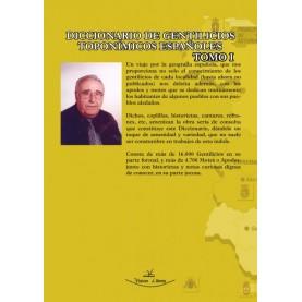 Diccionario de gentilicios toponímicos españoles - Tomo 1