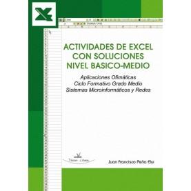Actividades de Excel con soluciones nivel Basico - Medio