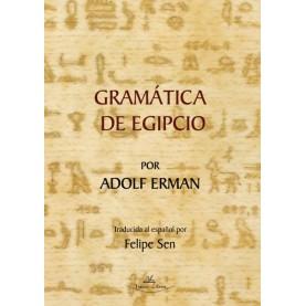 Gramática de Egipcio por Adolf Erman