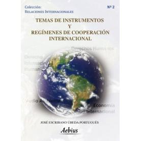 Temas de instrumentos y regímenes de cooperación internacional
