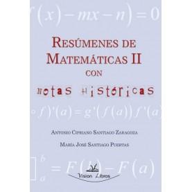 Resúmenes de matemáticas II con notas históricas