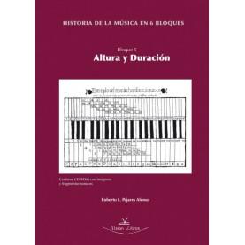 Historia de la música en 6 bloques. Bloque 5. Contiene DVD
