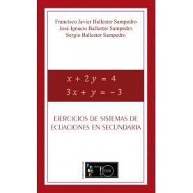 Ejercicios de sistemas de ecuaciones en secundaria