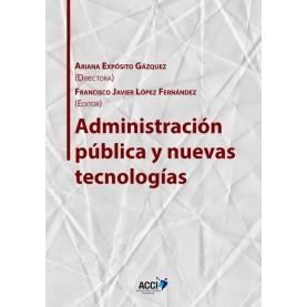 Administración pública y nuevas tecnologías