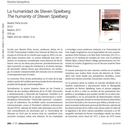 La humanidad de Steven Spielberg